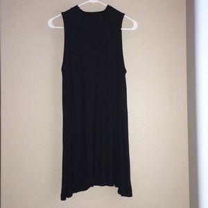 Soprano Black Mock-neck Dress